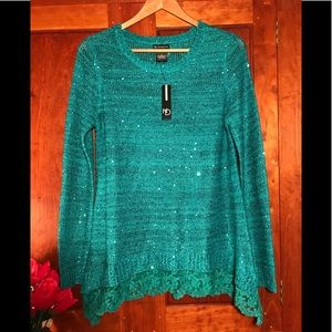Sweaters - New Direction sequined sweater NEW!
